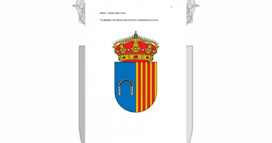Estudio proyecto escudo y bandera municipal