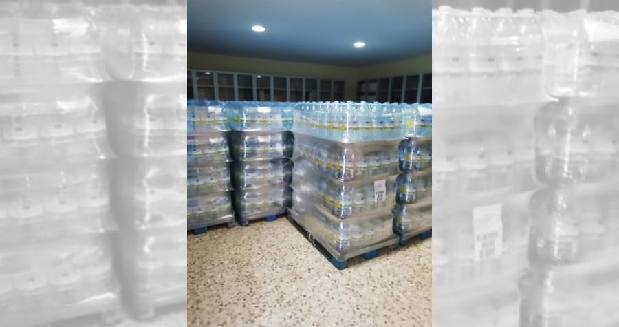 Garrafas de agua