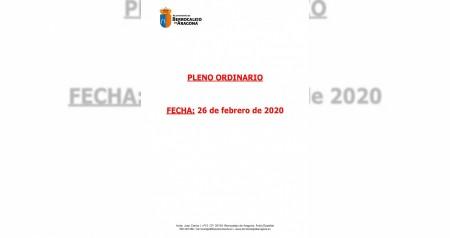 Acta pleno 26 de febrero 2020