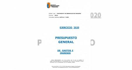 Presupuesto ejercicio 2020