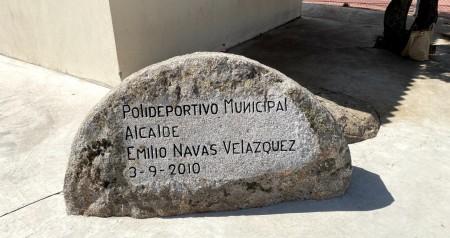 Pista Polideportiva construida siendo Alcalde D. Emilio Navas Velázquez (Q.E.P.D.)